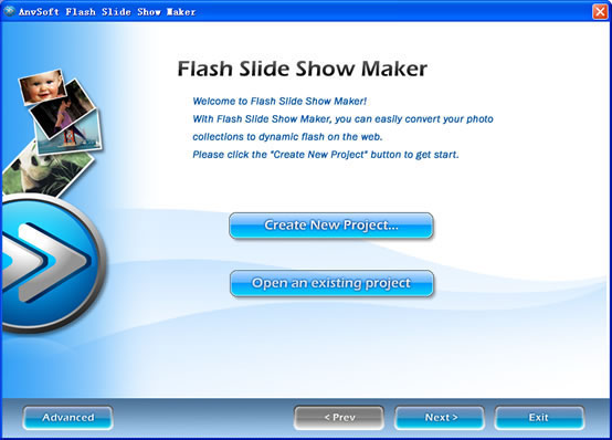 SocuSoft Flash Slide Show Maker - flash slide shows for photographers