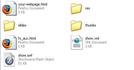 Use flash on website, MySpace and Blogger