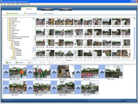How to Make Photo Flash Slideshow for Yahoo! 360 Blog